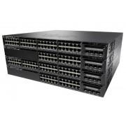 Cisco Systems Catalyst WS-C3650-48FD-S switch di rete Gestito L3 Gigabit Ethernet (10/100/1000) Nero 1U Supporto Power over Ethernet (PoE)