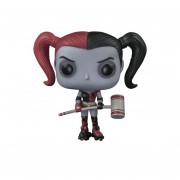 Funko Pop Harley Quinn Roller Derby Black Red Xcl