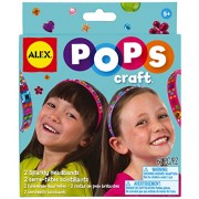 Alex Toys Do it Yourself Wear 2 Sparkly Headbands, Multi Color