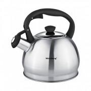 Свирещ чайник Klausberg KB 7043, 1.8 литра, Индукция, Различни цветове, Инокс