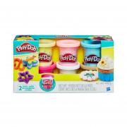 Set de 6 Masas moldeables Play Doh-Multicolor