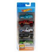 Set 5 masinute Hot Wheels Hot Trucks