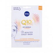 Nivea Q10 Plus C 10 Minutes Sheet Mask маска за лице 1 бр за жени