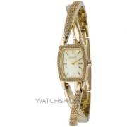 DKNY Quartz Gold Oval Women Watch NY4636 DKNY