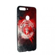 Husa de protectie Football Manchester United pentru OnePlus 5T Silicon B233