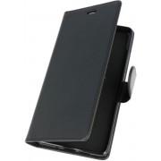 Zwart Wallet Case Hoesje voor Nokia 7 Plus