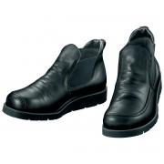 馬革のサイドゴアショートブーツ 渋谷製靴 シューズ 【ライトアップショッピングクラブ】