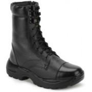 Benera JUMBO SIDE ZIP HIGH ANKLE BOOT Boots For Men(Black)
