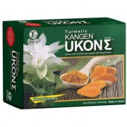 Enagic Ukon Kangen Ukon Turmeric Sigma Suplemento dietético súper antioxidante con aceite de cúrcuma natural