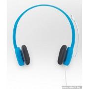 HEADPHONES, LOGITECH H150, Blueberry (981-000368)