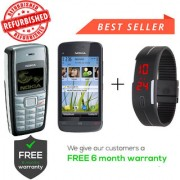 Nokia 1110 & C5-03 Get Digital Watch