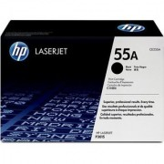 HP ( CE255A ) 55A Black Toner Cartridge
