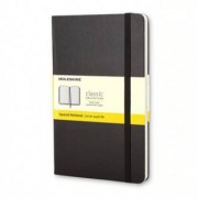 Unbranded Classic notebook large squared hard black