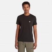Timberland T-shirt Dunstan River À Poche Pour Homme En Noir Noir, Taille XL