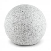 Shinestone XL Lâmpada Exterior em Bola Simula Pedra de Jardim 50 Centímetros