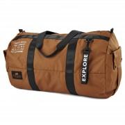 Lazy Bear Lealand Braune Faltbare Duffle Bag