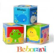 Меки кубчета мини Babyono 3 броя
