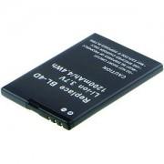 Nokia BL-4D Batterij, 2-Power vervangen