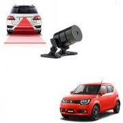 Auto Addict Car Styling Anti Collision Safety Line Led Laser Fog Lamp Brake Lamp Running Tail Light-12V Cars For Maruti Suzuki Ignis