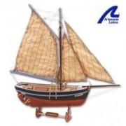 Artesania Latina drewniane modele statków Drewniany model do sklejania statku Bon Retour - Artesania 19007