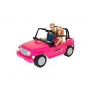 Jeep auto de playa BARBIE y KEN cjd12 bestoys