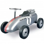 Retro Roller Racing Team Brett Children's Push Car