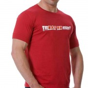Good Boy Gone Bad Treat Me Right Short Sleeved T Shirt Red
