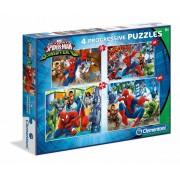 Puzzle Clementoni - Progressive - Spiderman, 20/60/100/180 piese (62436)