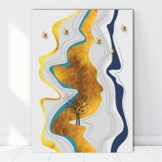 Tablou Canvas Natura Abstracta BES742 (Dimensiune LxH: 60x90cm)