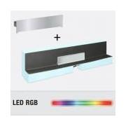 Sifon Design Kessel 48004.41, Board Scada90x10cmLED RGB+Abd.unsicht.