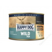 Happy Dog konzerv WILD PUR (Vadhúsos) 6x200g