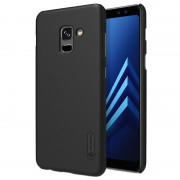 Capa Nillkin Super Frosted Shield para Samsung Galaxy A8+ (2018) - Preto
