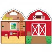 Детска книжка със стикери - Ферма, 19408 Melissa and Doug, 000772194082