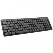 KBD, Delux DLK-KA150U + Mouse M136BU, USB, Black