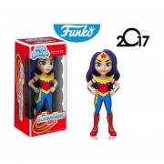 Wonder Woman Funko Pop Rock Candy Mujer Maravilla