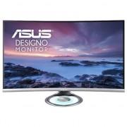 "Monitor LED VA Asus 31.5"", Curbat, WQHD, Display Port, Negru/Argintiu, MX32VQ"