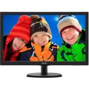 "Monitor LED TN Philips 21.5"", Wide, Full HD, DVI, Negru, 223V5LSB"