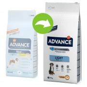 14kg Advance Maxi Light pienso para perros