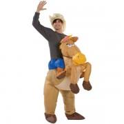 Nafukovací kostým kovboje