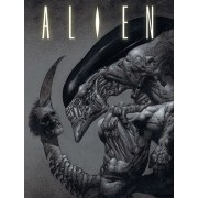 Alien Festmény - Head on tail - PYRAMID POSTERS - WDC92511