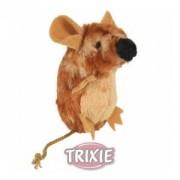 Stojící pískací plyšová myš s catnipem 8cm TRIXIE