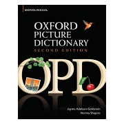 Oxford Picture Dictionary - Monolingual (American English) Dictionary for Teenage and Adult Students (Adelson-Goldstein Jayme)(Paperback) (9780194369763)