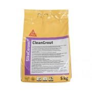 Chit pentru rosturi Sika Ceram Clean Grout grey 5 kg