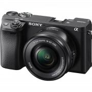 Sony Alpha a6400 PZ 16-50 f/3.5-5.6 OSS KIT Black Mirrorless Digital Camera crni bezrcalni digitalni fotoaparat i zoom objektiv SELP1650 16-50mm f3.5-5.6 ILCE-6400LB ILCE6400LB ILCE6400LB.CEC ILCE6400LB.CEC