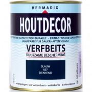 Hermadix Houtdecor 627 blauw 750 ml