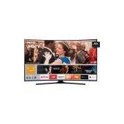 Smart TV LED Curva 49 Samsung 49MU6300 UHD 4k 3 HDMI 2 USB Espelhamento de Tela e Conversor Digital