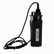 Submersible Water Well Pump, 1/2Inch 12V Solar Powered DC Deep Well Pump for Farm Ranch Outdoor Remote Water Use Operation