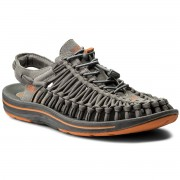 Сандали KEEN - Uneek Flat 1016901 Gargoyle/Burnt Orange