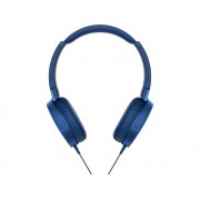 Sony Auriculares con cable SONY MDR-XB550AP (On ear - Micrófono - Atiende llamadas - Azul)