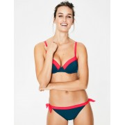 Boden Haut de bikini à bonnets Milos TUR Femme Boden, Blue - 95D